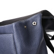 Pierre cardin men's backpack large capacity business computer backpack fashion trend travel leather bag J9A105-110501G blue