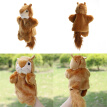 Cute Squirrel Hand Puppet Baby Kids Child Developmental Soft Doll Plush Toy