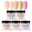 nomeni 5PCS Candy Color Nude Color Nails Dip Powder Set Without Lamp Cure Natural Dry