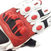 Motorcycle Glove Racing Genuine Leather Motorbike Gloves  White XL