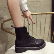 European and American handsome martin boots female English style new autumn personality Joker street style short boots