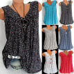 Fashion Women Sleeveless Loose T Shirts Ladies Summer Casual Blouse Tops Shirt
