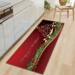 Christmas Style Non-slip Carpet Home Decoration Living Room Kitchen Bedroom Rug Door Sofa Bathroom Mat Christmas Doormat