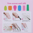 Non-woven Silks for Nail Extension Nail Builder Gel Nail Art Forms for Acrylic Gel Extension Building Fiberglass Nails French Mani