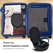 Carrying Bag for Philips,Xo Vision,Bose,Beats,Panasonic Headphone Hard EVA Heaphone Case for Travel and Home Storage