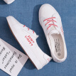 2019 summer new light-mouth small white canvas women's shoes Korean 100-style summer students cloth shoes casual net red tide shoe