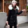 Tailored Women Winter Warm Coat Hooded Thick Warm Loose Jacket Long Overcoat