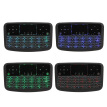 A36 Mini Wireless Keyboard 2.4GHz 4 Color Backlit Air Mouse Touchpad Keyboard For Android TV Box Smart TV PC Rechargeable