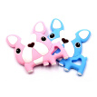 Baby Boys Girls Newborn Teething Toys For Children BPA Silicone Free Soft Silicone Cartoon Animal Teethers With Pacifier Clip