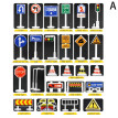 Tailored 28 Pcs Car Toy Accessories Traffic Road Signs Kids Children Play Learn Toy Game
