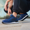 Hongxing Erke sneakers casual shoes Agan shoes shoes men's shoes breathable mesh casual running shoes 51183120070 ink blue 39