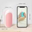 2-In-1 Rechargeable Power Bank Mini Hand Warmers Portable Pocket Hand Warmer USB Charging Powerbank