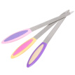 New Design 3 Pcs Double-sided Nail File Stainless Steel Nail Filers Manicure Pedicure Tool Sanding Polishing Buffing Tool