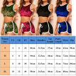 Womens 2 PCS Tracksuits Set Ladies Joggers Active Sport Loungewear Size S-XL