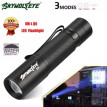 Saidsome 3 Modes Q5 LED Flashlight Zoomble Mini Torch Light Lamp AA 14500 flashlight lamp