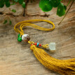 Feiwu Chinese style small jewelry hanging lotus bodhi bag hanging key hanging gift