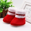 Spring Winter Baby Boots Soft Plush Ball Booties for Infant girls Anti Slip Snow Boot Winter Keep Warm Cute Crib shoes 2019