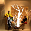 〖Follure〗Halloween Wall Sticker Ghost Living Room Bedroom Background Decoration Stickers
