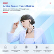 SOMIC SC1000 Wireless BT Headphones Active Noise Cancellation Earphone Headset Neckband Earbuds with Mic Hands-free Calling for iP