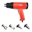 2000W Screen Display Electric Hot Air Gun Thermal Power Tool with 4 Nozzles Bracket