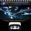 Arealer VR Virtual Reality Glasses Headset 3D Glasses DIY 3D Movie Game Glasses w/ Magnetic Switch  Head-Mounted Headband White fo