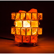 Natural Himalayan Crystal Salt Light Air Purifier Night Lamp Dimmable Controller