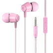 Bass Sound Earphone In-Ear Sport Earphones with mic for xiaomi i-Phone Samsung Headset Pink