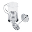 Greensen Coffee Pot Press Plunger,Stainless Steel Glass Cafetiere French Filter Tea Coffee Pot Press Plunger Coffee Pot