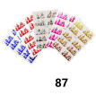 5Pcs/Set Blaze Nail Sticker Fire Design Nail Foil DIY Sticker Nail Art Decal