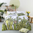 Digital Printed Tropical Cactus Bedding, Pillow Cover and Quilt Cover
