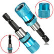 "Dry Wall 58mm Bit Holder Drilling Screwdriver Plasterboard 1/4"" Hex Magnetic"