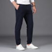 Jeep (JEEP) Wei pants men's waist straight youth men's stretch cotton sports casual pants 2018 autumn new 1910 Bao blue 2XL