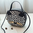 Tailored Women Leopard Shoulders Small Backpack Letter Purse Mobile Phone Messenger Bag