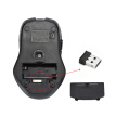 2.4GHz Wireless 2400DPI/CPI 6D Button Optical Mouse/Mice Adjustable USB Receiver for Mac PC Laptop Home Office