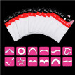 〖Follure〗24Pcs/Set Transfer Stickers 3D Design Nail Art Manicure French Tip Guide Decal