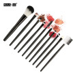 (Toponeto) 10pcs Cosmetic Makeup Brush Blusher Eye Shadow Brushes Set Kit New