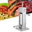 Greensen 5L Stainless Steel Vertical Manual Sausage Stuffer Sausage Maker Machine,Sausage Stuffer, Vertical Sausage Stuffer