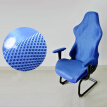 1 Pc Office Computer Home Chair Cover High Back Elastic Armchair Seat Cover Soft
