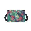 ALAZA Lunch Box Insulated Lunch Bag Large Cooler Tote Bag Tropical Leaves Background for Men, Women, Girls, Boys