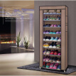 Single Row Dust-tight Shoe Cabinet Non-woven Fabrics Shoe Rack Organizer Minimalist Furniture Boots Storage Shelves