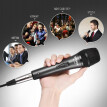 "Professional Dynamic Moving-coil Vocal Handheld Microphone Cardioid with 16ft XLR-to-1/4"" Detachable Cable for Karaoke Stage Home"