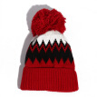 Hat lady autumn winter Korean version wool ball knitting hat winter plus velvet to keep warm wool cap student outdoor cap man