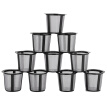 Greensen 10PCS Reusable Coffee Filter Plastic Coffee Filtering Cup Basket