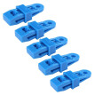 5pcs Tarp Awning Clamps Set Tent Snaps Clamps Clips for Outdoor Camping Farming Garden