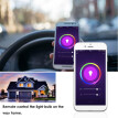 2190 Smart WIFI LED Bulb WIFI Light RGB Multicolor LED Bulb 9W E26/27 Dimmable Light Phone Remote Control Compatible with Alexa Go