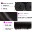 Ishow 7A Malaysian Straight Hair with Closure Malaysian Virgin Hair 4 Bundles with Closure Straight Free Shipping