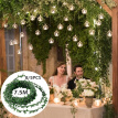 8/5Pcs Artificial Ivy Garland Foliage Green Leaves Simulated Vine for Wedding Party Favors Decor