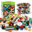 1000Pcs Bricks Designer Creative Blocks Child Anime Small Particles Building Blocks DIY Toy Bulk For Children Gift