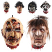 2019 New Halloween Props Terrorist Mask Scary Bloody Prank Toy Nail Head Halloween Decor