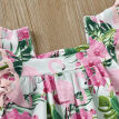 Flamingo Toddler Baby Girl Summer Party Dress Princess Tassel Sundress Clothes